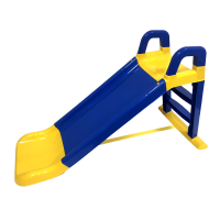 Csúszda kapaszkodóval 140 cm Inlea4Fun - kék