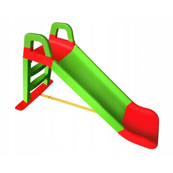 Inlea4Fun csúszda kapaszkodóval 140 cm - Zöld