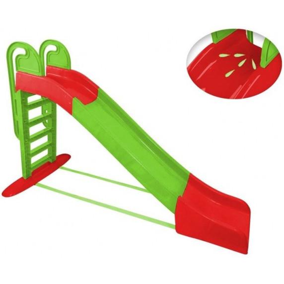 Inlea4Fun Vizes csúszda kapaszkodóval -zöld