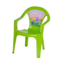 Inlea4Fun műanyag szék gyerekeknek - Zöld