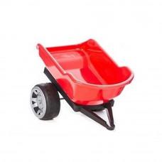 Inlea4Fun Big Farmer traktor pótkocsi - Piros Előnézet