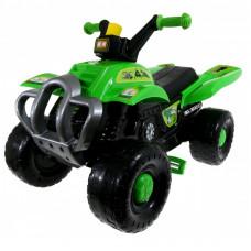 Inlea4Fun Big Quad pedálos négykerekű jármű - Zöld Előnézet