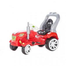 Inlea4Fun Big Farmer pedálos traktor - Piros Előnézet