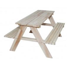 Inlea4Fun ZO Kerti játszó pad piknik asztal Előnézet