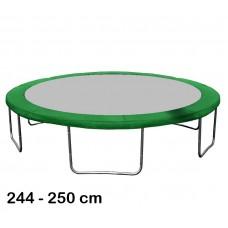 Aga rugótakaró 250 cm átmérőjű trambulinhoz - Sötét zöld Előnézet