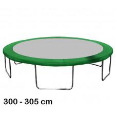 Aga rugótakaró 305 cm átmérőjű trambulinhoz - Zöld Előnézet