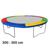 Rugótakaró 305 cm átmérőjű trambulinhoz AGA - Négyszínű