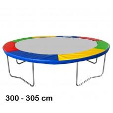 Aga rugótakaró 305 cm átmérőjű trambulinhoz - Négyszínű Előnézet