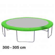 Aga rugótakaró 305 cm átmérőjű trambulinhoz - Világos zöld Előnézet