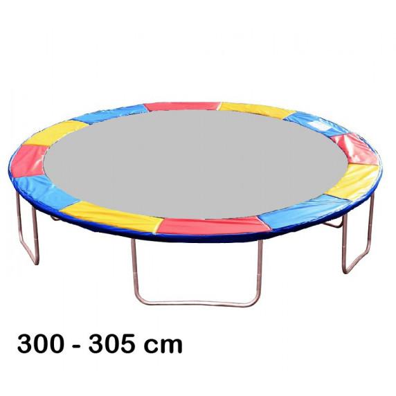 Aga rugótakaró 305 cm átmérőjű trambulinhoz - Háromszínű