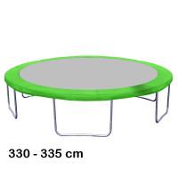 Aga rugótakaró 335 cm átmérőjű trambulinhoz - Világos zöld
