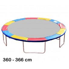 Aga rugótakaró 366 cm átmérőjű trambulinhoz - Háromszínű Előnézet