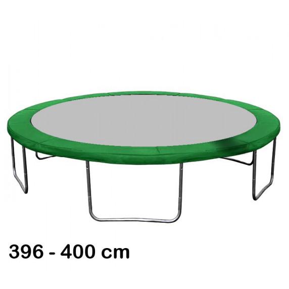 Aga rugótakaró 400 cm átmérőjű trambulinhoz - Sötét zöld