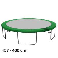 Aga rugótakaró 460 cm átmérőjű trambulinhoz - Sötét zöld