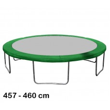 Aga rugótakaró 460 cm átmérőjű trambulinhoz - Sötét zöld Előnézet