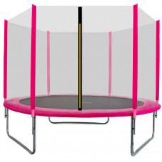 AGA SPORT TOP 305 cm trambulin - Rózsaszín