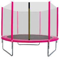 AGA SPORT TOP 250 cm trambulin - Rózsaszín