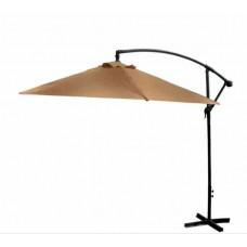 AGA EXCLUSIV Bony 300 cm függő napernyő - Kávébarna Előnézet