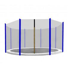 AGA védőháló 366 cm átmérőjű trambulinhoz 8 rudas - Kék Előnézet