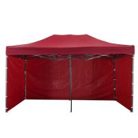 AGA kerti sátor 3O POP UP 3x6 m - Piros
