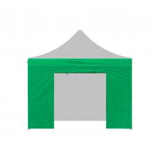 Aga oldalfal ajtóval POP UP 3x3 m - Zöld Előnézet