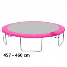 Aga rugótakaró 460 cm átmérőjű trambulinhoz - Rózsaszín Előnézet