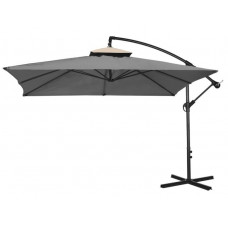 Függő napernyő 250 cm AGA EXCLUSIV CUBE - Sötét szürke Előnézet