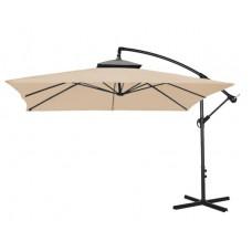 Függő napernyő 250 cm AGA EXCLUSIV CUBE - kávébarna Előnézet