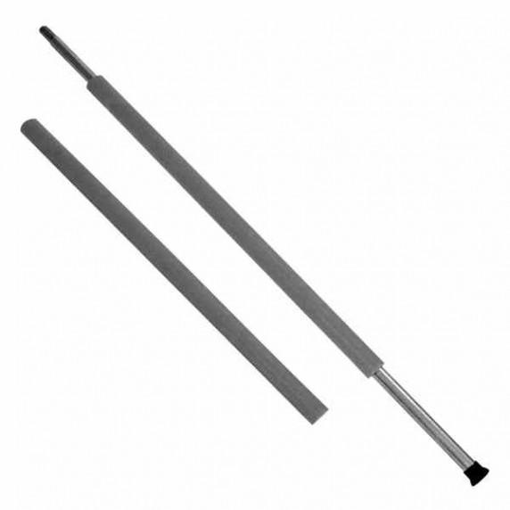 Habszivacs védő tartóoszlopra AGA  MIRELON 90 cm - Fekete