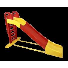 Csúszda kapaszkodóval 243 cm Inlea4Fun - piros Előnézet