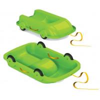 Univerzális bob szánkó gurulós kocsi 2az1-ben Inlea4Fun - Zöld