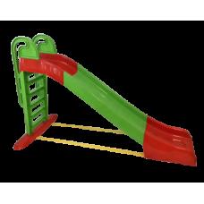 Csúszda kapaszkodóval 243 cm Inlea4Fun - zöld Előnézet