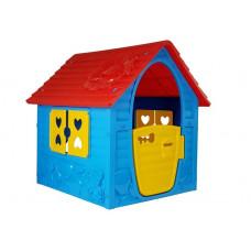 Kerti játszóház Inlea4Fun My First Playhouse  - Kék/piros Előnézet