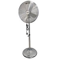 VENTO Otthoni álló ventilátor 40 cm 50W INOX króm