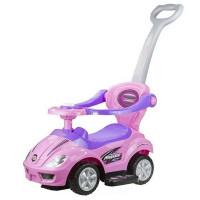 Inlea4Fun gyermekjármű 3 az 1-ben - rózsaszín