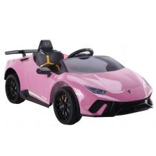 Inlea4Fun LAMBORGHINI Huracan Elektromos kisautó - rózsaszín