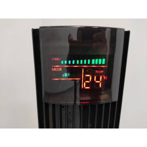 VENTO oszlop ventilátor 117 cm 45W - fekete