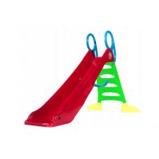 Inlea4Fun csúszda víztömlő csatlakozóval 200 cm - piros Előnézet