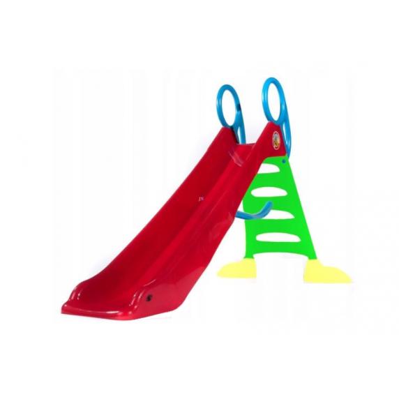 Inlea4Fun csúszda víztömlő csatlakozóval 200 cm - piros