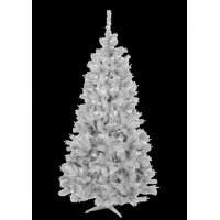 Inlea4Fun fehér műfenyő ELIZA 150 cm + állvány - fehér