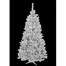 Inlea4Fun fehér műfenyő ELIZA 150 cm + állvány - fehér Előnézet