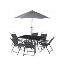 Kerti bútor szett  napernyővel Complex MIR-Z5059 Előnézet