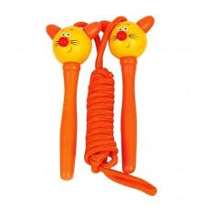 Ugrálókötél Woodyland Skipping Rope CAT - Narancssárga Előnézet