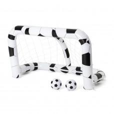 Felfújható focikapu két labdávlal BESTWAY 213 x 117 x 125 cm Előnézet