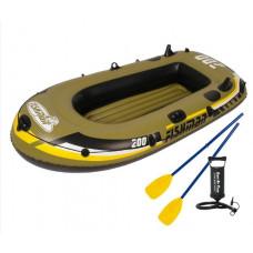 Fischman 200  felfújható csónak szett Előnézet