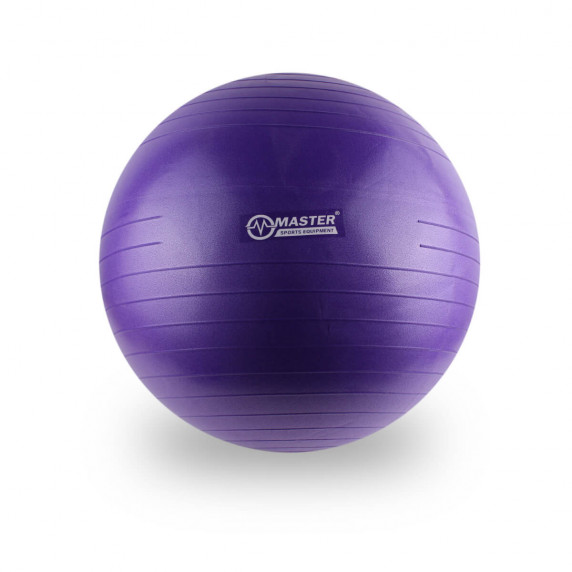 Gimnasztikai labda 55 cm MASTER Super Ball - lila