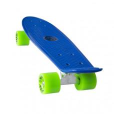 """Műanyag gördeszka MASTER Penny Board 22"""" - Kék Előnézet"""