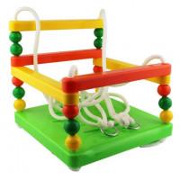 MASTER gyerek hinta biztonsági kerettel - zöld