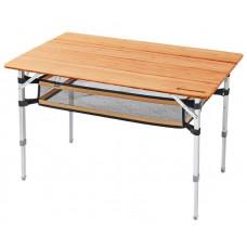 Kemping asztal KING CAMP Bamboo 100x65 cm Előnézet