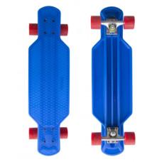 """MASTER Longboard műanyag gördeszka 29"""" - Kék Előnézet"""